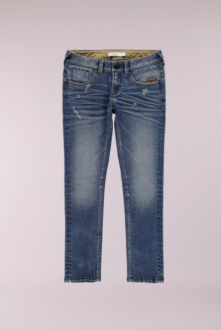 Slim fit Jeans Ross Blauw