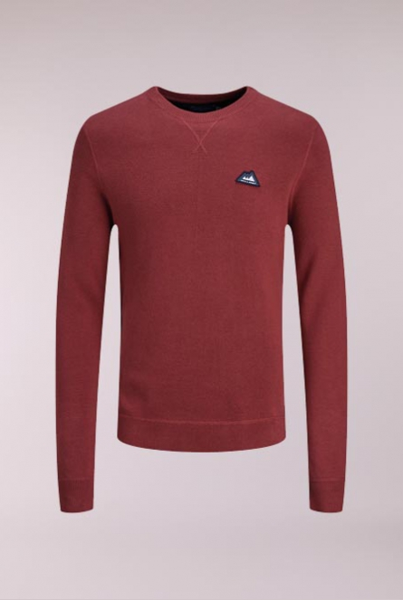 Sweater Double Rood