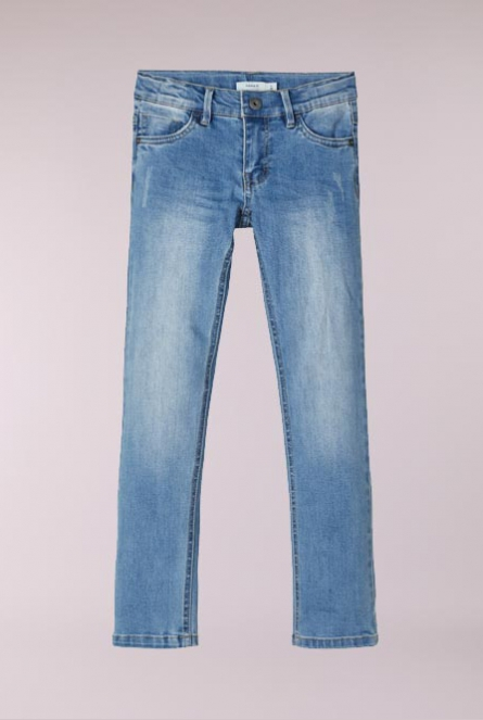 Jeans Theo Slim fit Blauw
