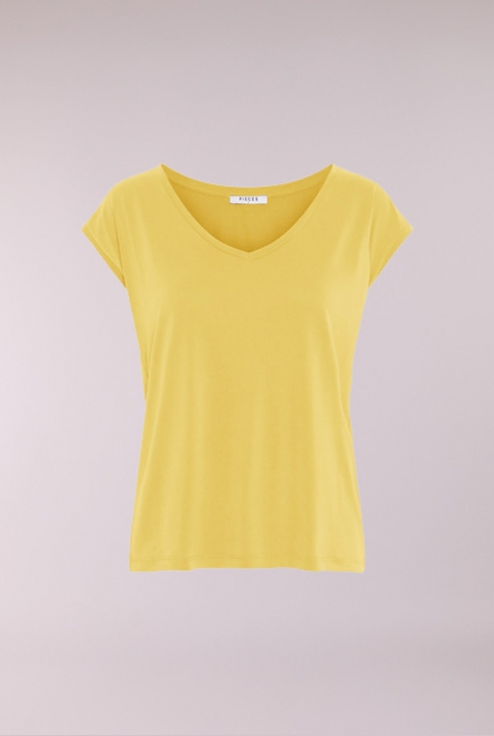 Basic Shirt Kamala Geel