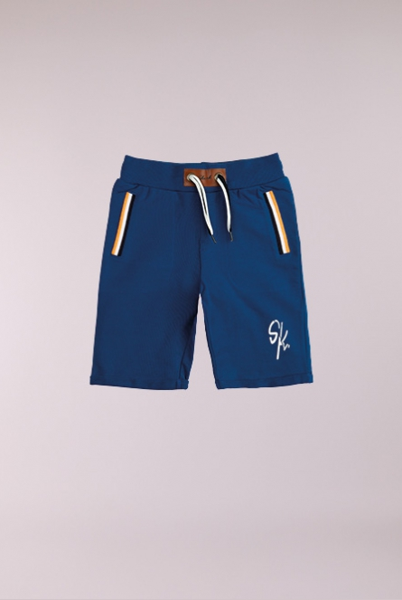 SweatShort Brooks Blauw
