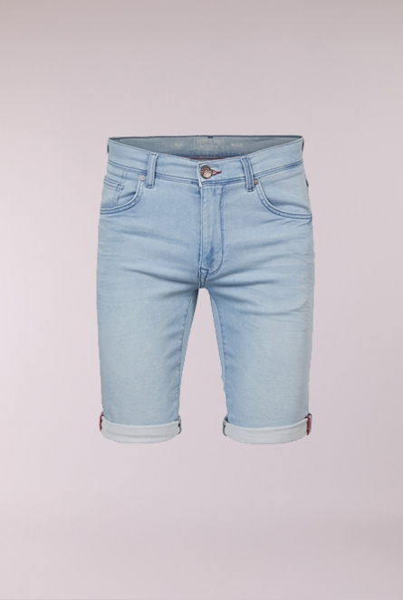 Denim Short Blauw