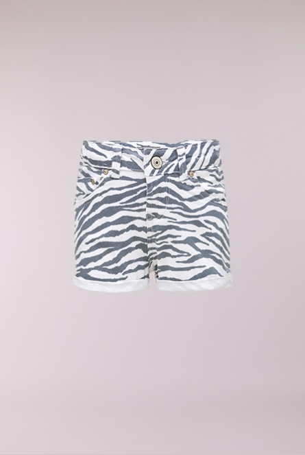 Zebra Short Judie Wit