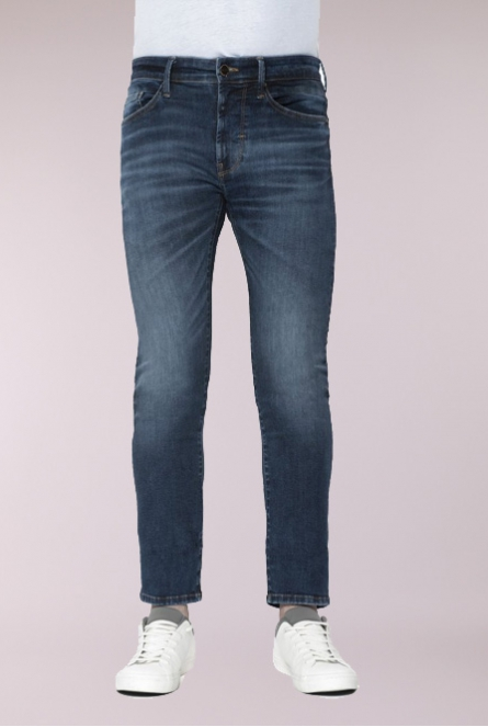 Jeans Leo Slim Fit Welflex Blauw