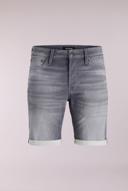 Denim Short Rick Icon Grijs