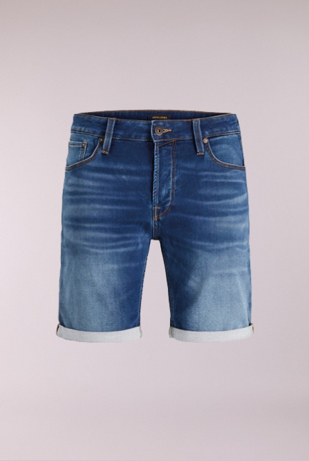 Denim Short Rick Blauw