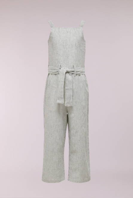 Gestreepte Jumpsuit Canyon Cloud Dancer/DARK BLUE DENIM