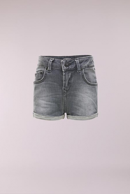 Denim Short Judie Grijs