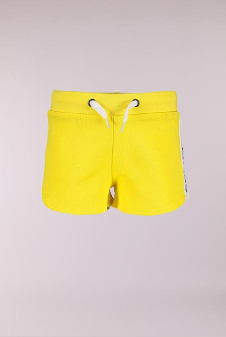 Sweat Short Geel