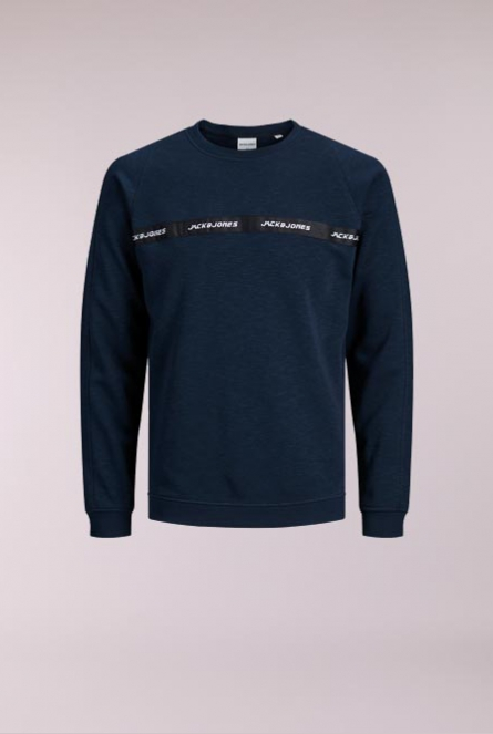 Sweater Train Blauw