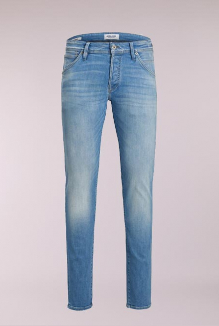 Jeans slim fit Glenn Fox Blauw