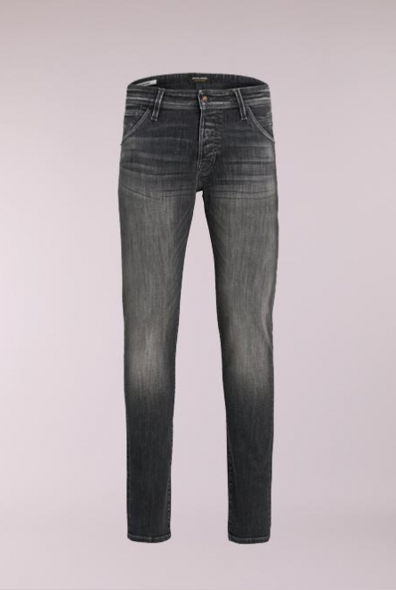 Slim fit Jeans Glenn Fox Zwart