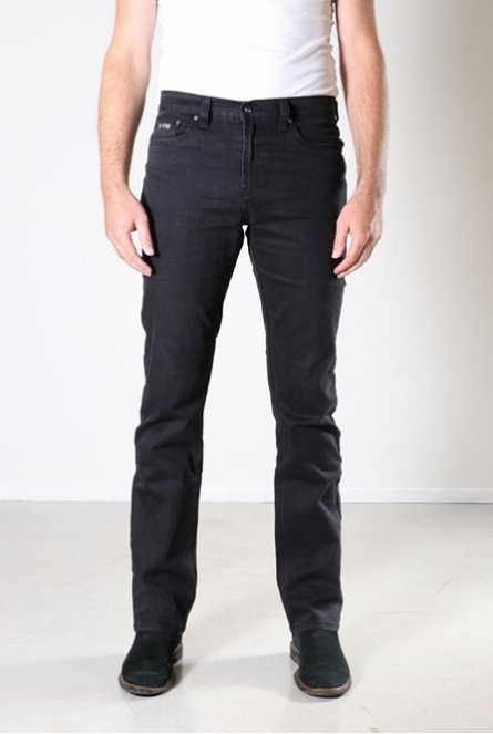 Jeans Jacksonville Regular fit Stretch Zwart