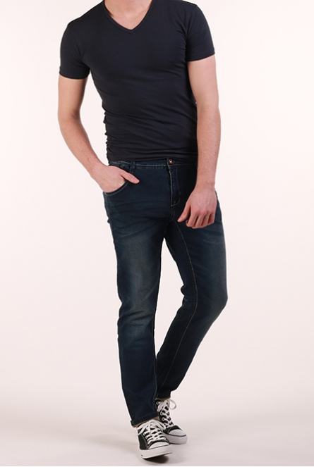 Jeans Prinze jog denim slim fit Blauw