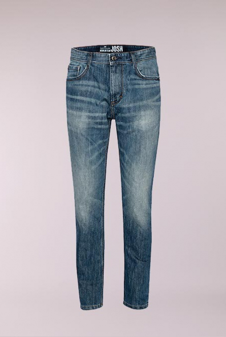 Jeans regular slim-fit Josh Blauw