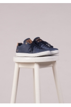 Lage Sneakers Donker blauw