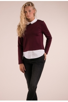 Shirt Cally Aubergine