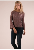 Kanten Shirt Everly Roze