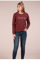 Sweater Tori Aubergine