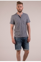 Shirt knitted navy