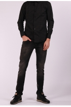 Jeans Bari slim-fit Zwart